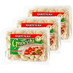 Fast and easy dish, cooks in 3 minutes. Product of Italy Bartenura Gnocchi is Italys favorite delectable potato dumpling dish. Serve it with a spicy tomato sauce, with cheese or broth. No cholesterol, low fat. Certified Kosher