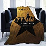 YOU and me 2020 Hamilton The Musical Fleece Blanket Ultra-Soft Micro for Couch Or Bed Warm Living Room Throw Blanket