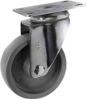TOOLCRAFT TO-5137935 Zwenkwiel PP 100 mm met schroefplaat