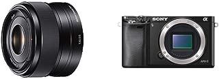 ソニー SONY 単焦点レンズ E 35mm F1.8 OSS ソニー Eマウント用 APS-C専用 SEL35F18 & SONY ミラーレス一眼 α6000 ボディ ブラック ILCE-6000 B