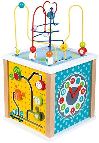 Lelin Toys - 31612 - Cube d'activités - Ferme
