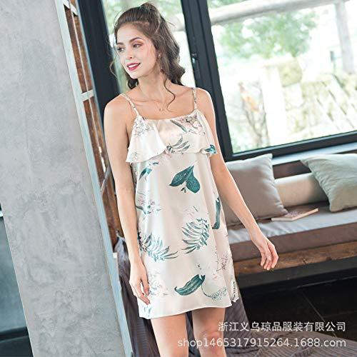 Handaxian Pijama Mujer Summer Sling Camisón Simulación