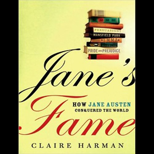 Jane's Fame audiobook cover art