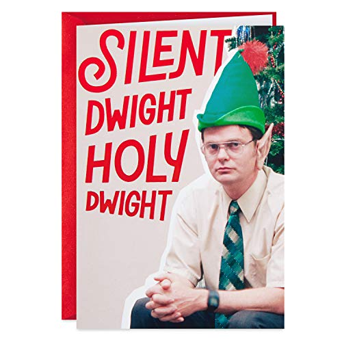 Hallmark Shoebox The Office Christmas Card (Dwight) (399XXH1014)