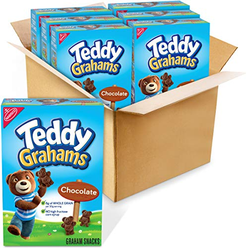 Teddy Grahams Chocolate Graham Snacks