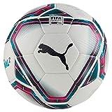 Puma teamFINAL 21.2 FIFA Quality Pro Ball Ballon De Foot Mixte Adulte, White-Rose Red-Ocean Depths Black-Omphalodes, 5