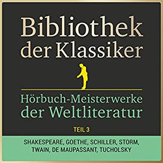 Hörbuch-Meisterwerke der Weltliteratur, Teil 3 (Bibliothek der Klassiker) Titelbild