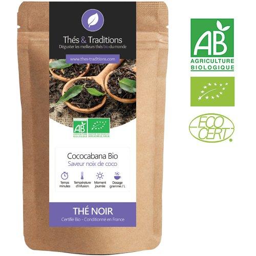 Thés & Traditions - Té Negro Bio coco - CocoCabana | 100g