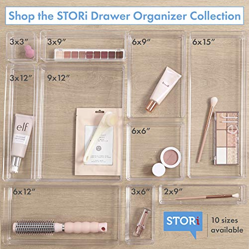 STORi Clear Plastic Drawer Organizers 9