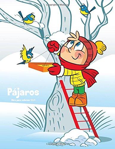 Loros Pájaros libro para colorear 3 & 4