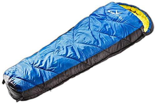 Black Crevice Warmer Kinder und Jugend Hohlfaser Schlafsack, 2 Farben