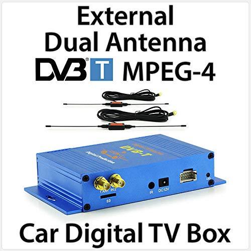Tunez MPEG-4 DVB-T Unité TV Externe Unité Principale de Voiture numérique