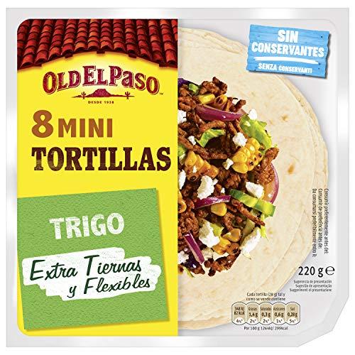 Old El Paso - Mini Tortilla de Trigo - 8 unidades