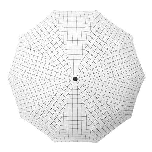 Portable Triple Pliant Anti UV Soleil Parapluie De Pluie pour Enfants Adultes Voyage Camping Pêche Randonnée Marcher Shopping Activités De Plein Air Style C