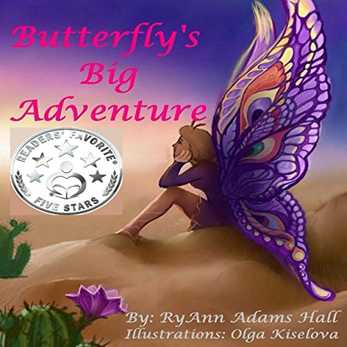 Butterfly's Big Adventure audiobook cover art