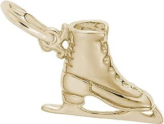 Rembrandt Ice Skate Charm
