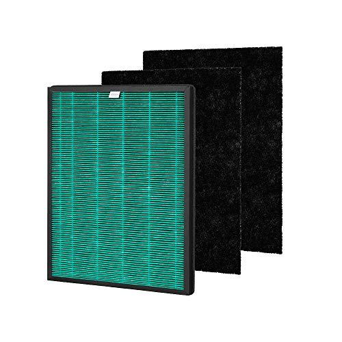 Coway Airmega 150 Replacement Filter Luftreiniger Ersatzfilter Set, schwarz/weiß