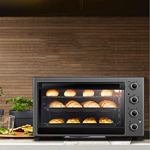 51tslk6KxcL - Wghz Pizzaofen Brotbackmaschinen, Elektroofen Backen Multifunktional Automatik 60 Liter Großraum Multifunktionsfrühstück Sandwich Elektroofen