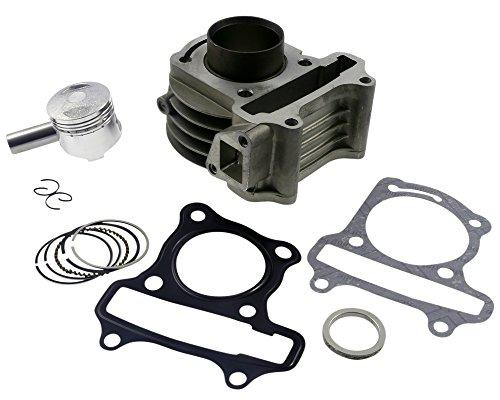 Zylinder Kit 50ccm 2EXTREME Standard für YIBEN YB50QT-3 50cc, YB50QT-6, YB50QT-9, YIYING YY50QT