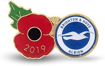 The Royal British Legion Brighton & Hove Albion Poppy Football Pin 2019