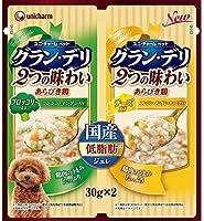 【メール便】 ユニ・チャーム ペットケア グラン・デリ 2つの味わい パウチジュレ ブロッコリー&チーズ 60g×3個セット