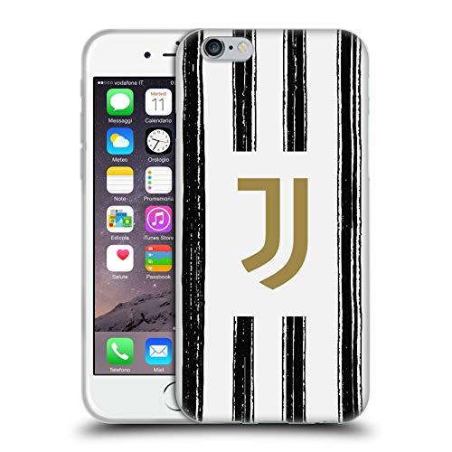Head Case Designs Ufficiale Juventus Football Club in Casa 2020/21 Kit Abbinato Cover in Morbido Gel Compatibile con Apple iPhone 6 / iPhone 6s