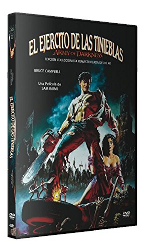 El Ejército de las Tinieblas Edicion Remasterizada de 4K  DVD  1992 Army of Darkness