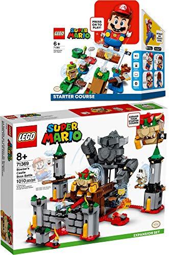 Bundle Lego® Super Mario™ 2er Set 71360 71369 Abenteuer mit Mario™ Starterset + Bowsers Festung