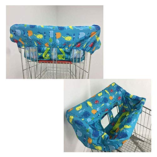 AGBFJY Shopping Cart Cover Protection Baby Supermarket Shopping Bag Carry...