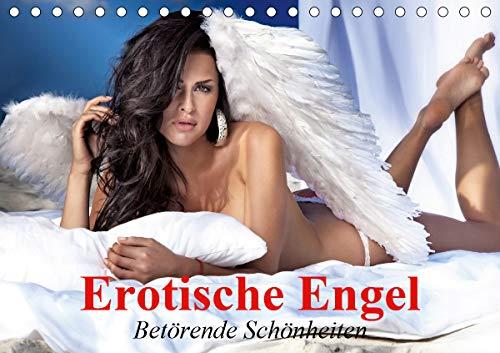 Erotische Engel - Betörende Schönheiten (Tischkalender 2021 DIN A5 quer)