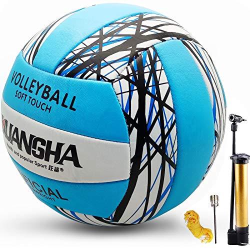 Senston Volleyball für Drinnen Draußen, Sanft Berühren Beach Volleyball Offizielle Größe 5