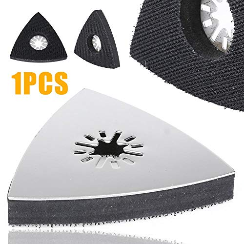 Great Deal! 1pc 80mm Durable Polishing Sanding Pads Triangular Sanding Pad Oscillating Multi Tool fo...