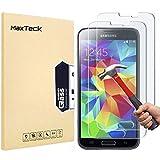 MaxTeck [3 Pièces] Verre Trempé Samsung Galaxy S5, Film Protection en Verre trempé écran...