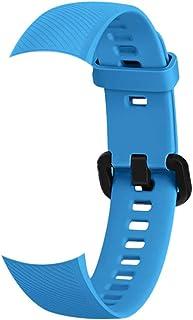 Honeytecs Smartwatch Band Replacement Silica Gel Bracelet Strap Band Accessories Watch Belt Women Men Wristbands Compatibl...