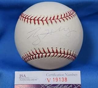 ROY HALLADAY JSA Coa Autograph Major League OML Hand Signed BasebaLL