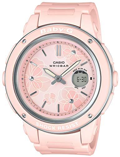 [カシオ] 腕時計 ベビージー Floral Dial Series BGA-150FL-4AJF レディース ピンク