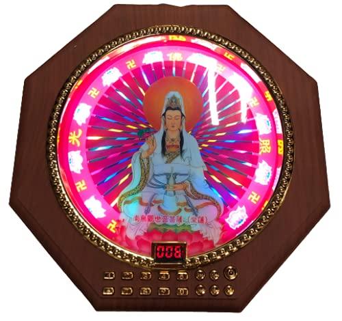 ブッダマシーン 念仏機 Buddha machine MR.BIG 20×20㎝ 最大サイズ 269曲 佛教 液晶カウンター (南無観世音菩薩)