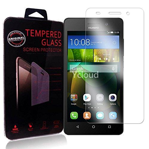 Ycloud Pellicola Protezione di schermo per Huawei G Play Mini in vetro temperato Ultra Resistente Protezione Esterna Durezza 9H (0,26mm HD Transparent High)