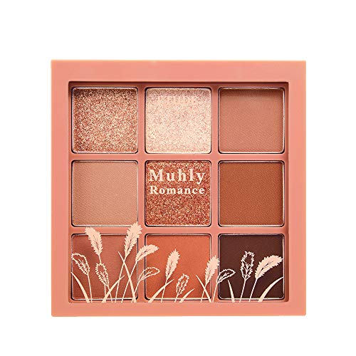 ETUDE HOUSE Play Color Eyes #Pink Muhly Romance | 9 Color Eye Shadow...