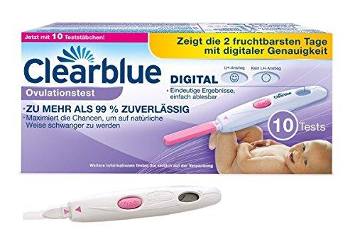 Vorteilspack - 50 Ovulationstest Streifen 10 miu/ml LH ovulation test + Clearblue Digitaler Ovulationstest 10 Stück