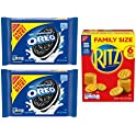 3-Pack OREO Cookies & RITZ Crackers Variety Pack, Family Size