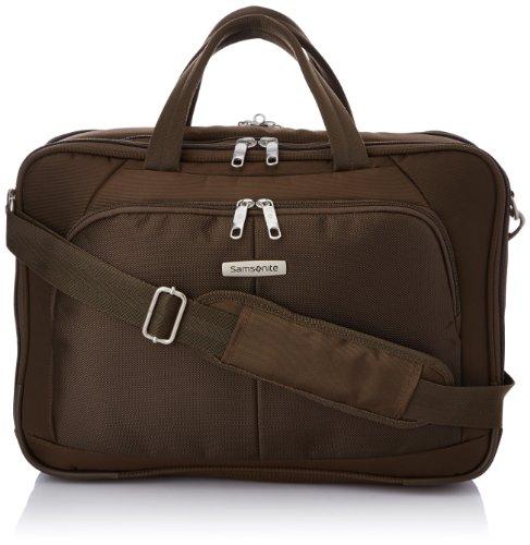 Samsonite Cartella Intellio Briefcases Bailhandle 16' Exp 16 liters Marrone (Dark Brown) 56329-1251