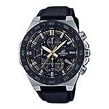 Casio Efr-564bl-1avudf Reloj Cronografo para Hombre Colección Edifice Caja De Acero Inoxidable Esfera Color Negro