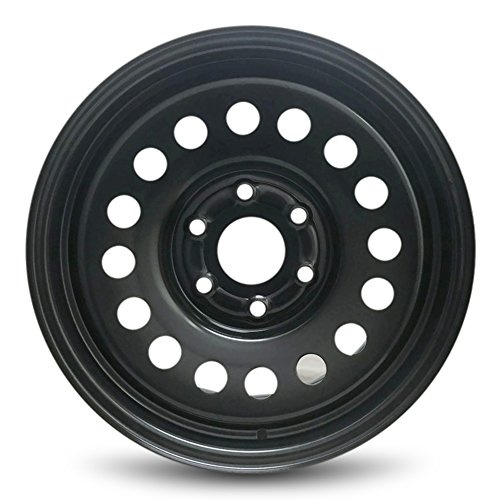 Road Ready Car Wheel for 2007-2013 Chevrolet Avalanche 17 inch Steel Black Rim Fits R17 Tire - Exact OEM Replacement