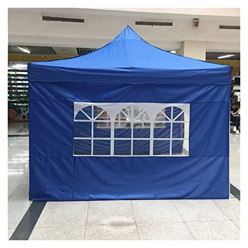 LOMAX Wasserdicht Zelt, 3x3m Camping-Zelt mit Zelt Tragbare Markise, Camping Seitenwand, Picknick Picknick Schuppen Abdeckung Draussen (Color : White)