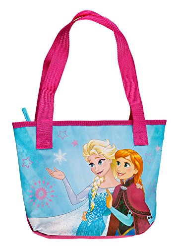 Undercover Shopping Bag, Disney Frozen, Circa 33 x 23 x 8 Sporttasche, 33 cm, Pink