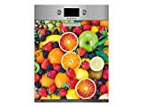 Vinilo para Lavavajillas Frutas Variadas | Varias Medidas 65x75cm | Adhesivo Resistente y de Fácil Aplicación | Pegatina Adhesiva Decorativa de Diseño Profesional