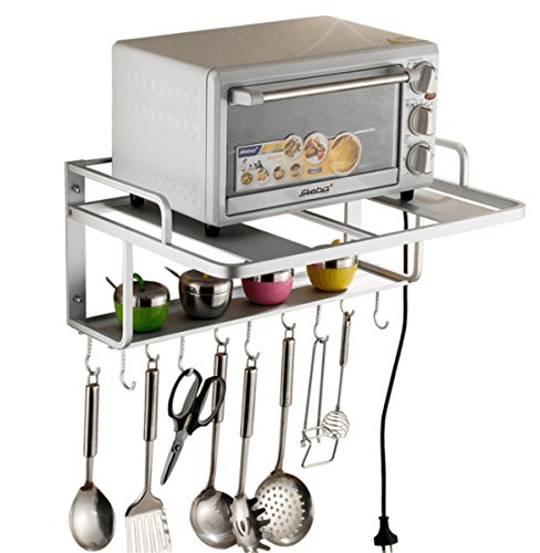 Regal für Mikrowelle, Ofen, Wandhalterung für Küche