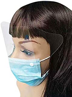 medical mask with shield