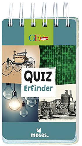 GEOlino Quiz Erfinder | 100 spannende Fragen und Antworten | Für Kinder ab 8 Jahren